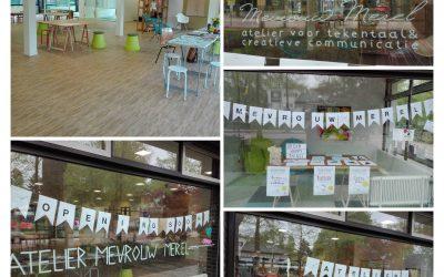 Pop up Atelier Mevrouw Merel